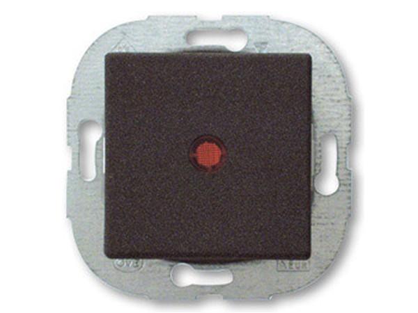 REV Ritter Düwi Arcada Kontroll-Wechselschalter mit Glimmlampe, samtgrau (38193)