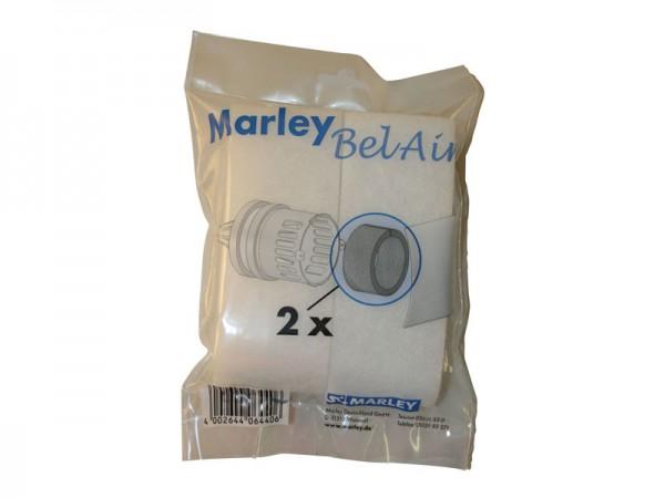 Marley Ersatzfilter für Zuluftkanal mit Pollenschutz Ø 100 mm (064406)