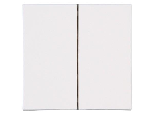 Flächendoppelwippe für Funk-Wandschalter (Free-Control) Objekt HK 07 rein-weiß Kopp (827029008)