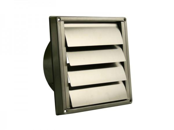 Marley Flachkanalsystem 100 Selbsttätige Verschlusskappe Edelstahl (058825)