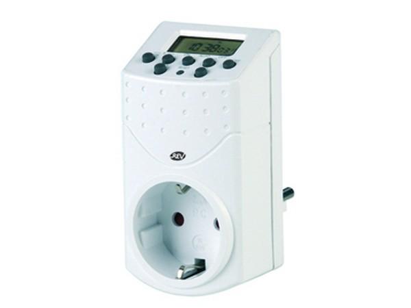 Zeitschaltuhr digital weiß - REV-Ritter (0025100109)