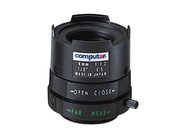 Computar T0812FICS Objektiv mit manueller Blende