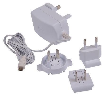 Offizielle microUSB-Stromversorgung für Raspberry Pi (Gen 1 und 2)