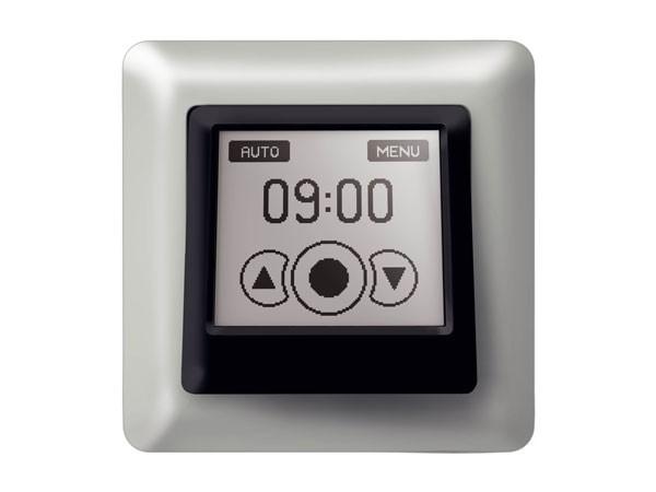 Vestamatic Touch Control VRS Nero Rollladensteuerung inklusiv 1fach Abdeckrahmen (Art. Nr. 01813503)