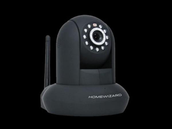 HomeWizard IP Kamera schwarz