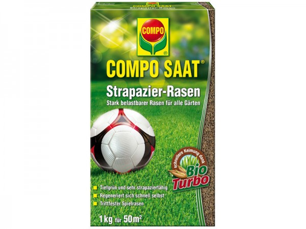 Compo Saat Strapazier-Rasen 1kg (13885)