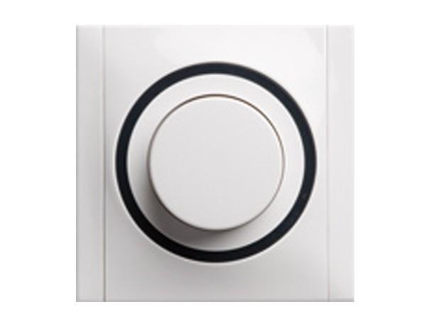 Helligkeitsregler für konventionelle Trafos 20-500VA weiß/grau Serie Ascoli - REV-Ritter (00929104)