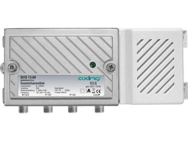 Axing BVS 13-68 Hausanschlussverstärker mit aktivem Rückkanal 5-65 MHz (30dB, 1006MHz, 100dBµV)