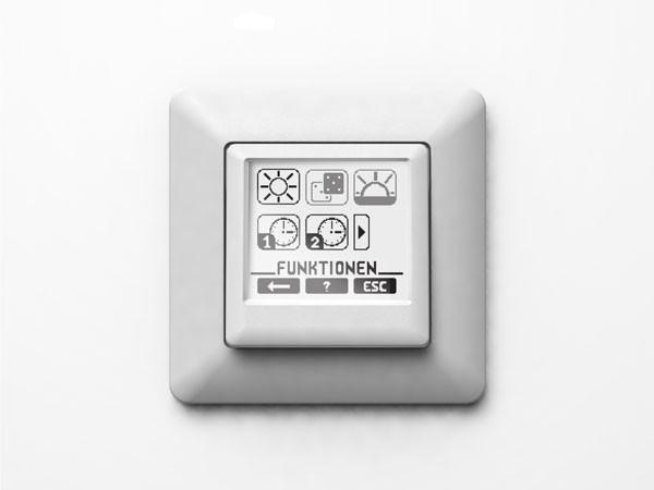 Vestamatic Touch Control Rollladensteuerung inklusiv 1fach Abdeckrahmen (Art. Nr. 01813500)