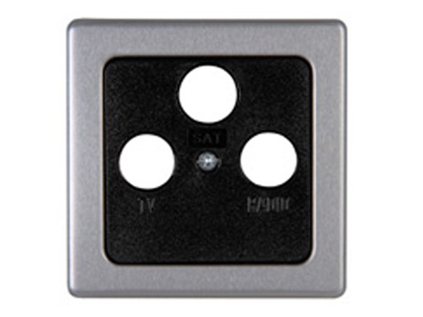 Antennenabdeckung TV/RF/SAT stahl Serie Vision - Kopp (337020180)