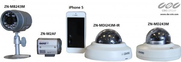 Ganz PixelPro Mini-Innendome IR-Kamera (ZN-MDI243M-IR)