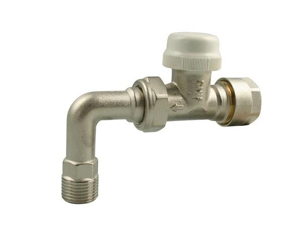 Marley DreMa Thermostat-Ventil mit Rohrbogen 1/2 Zoll AG (Nr.104)
