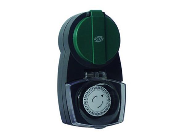 Zeitschaltuhr mechanisch Außen anthrazit-grün - REV-Ritter (0025710603)