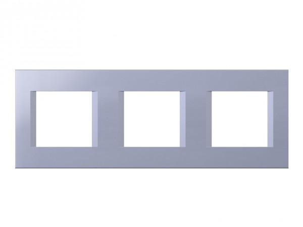 TEM Serie Modul Plus LINE Abdeckrahmen 3x2M impulse blau (OL26IB-U)