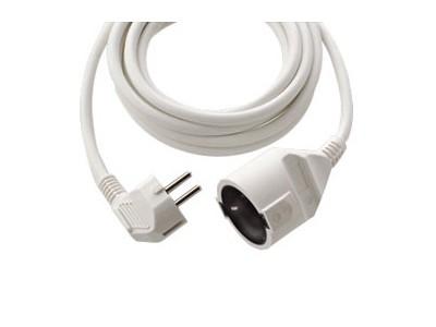 REV 2m Schutzkontakt-Verlängerung weiß (0016020114)