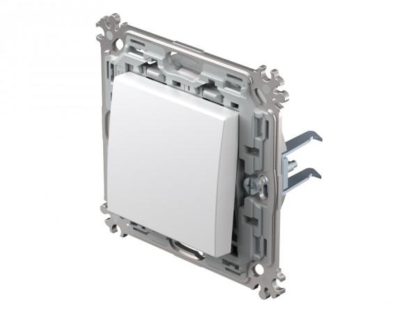 TEM Serie Modul Plus Aus- und Wechselschaltereinsatz polar weiß (CS60PWXO-D)