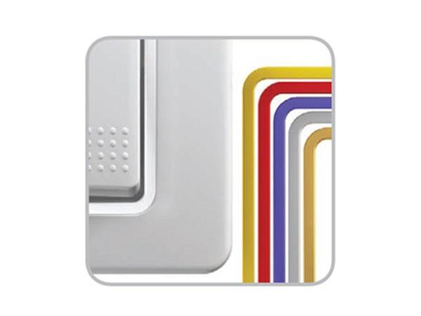 Farbring Silber Serie ekonomik (OE90CR)