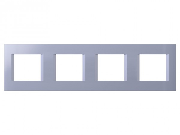 TEM Serie Modul Plus LINE Abdeckrahmen 4x2M impulse blau (OL28IB-U)