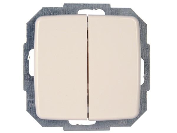 Wechsel-/Wechselschalter Serie Rivo rein-weiß Kopp (585317085)
