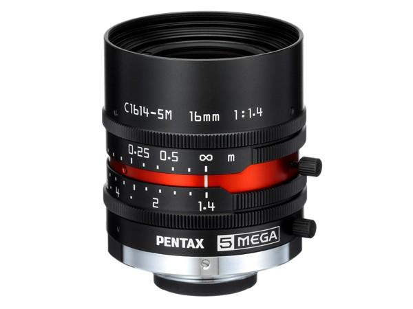 PENTAX CCTV Objektiv Festbrennweite hochauflösend FL-CC1614-5M (1.4/16mm)