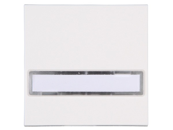 Flächenwippe mit Beschriftungsfeld Objekt HK 07 rein-weiß Kopp (492029000)