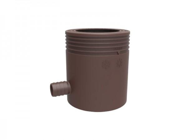 Marley Regensammler mit Filter und Überlaufstop braun (079639)