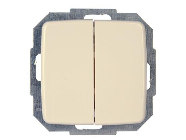 Wechsel-/Wechselschalter Serie Rivo creme-weiß Kopp (585301082)