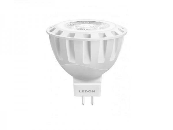 LEDON LED-Spot MR16 GU5.3 6W 60 Grad Abstrahlwinkel nicht dimmbar warm weiß (29001044)