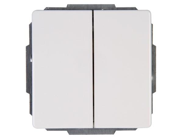 Serienschalter rein-weiß Serie Venedig - Kopp (600529082)