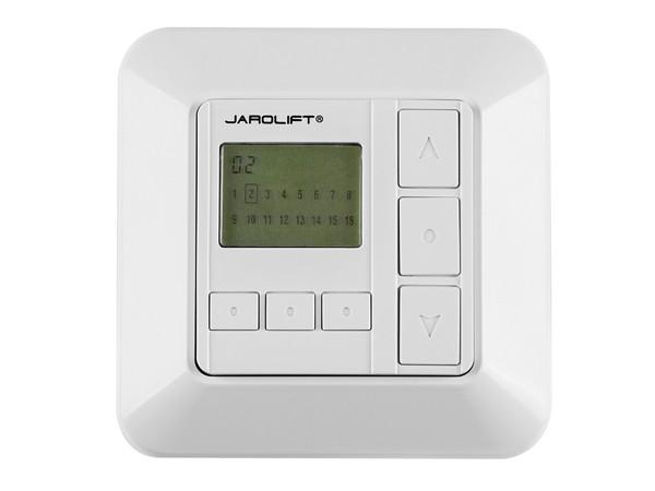 Jarolift Funkwandsender mit Display 16-Kanal TDRC 16W