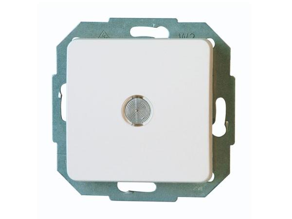 Taster beleuchtet weiß / Serie Milano - Kopp (619371089)