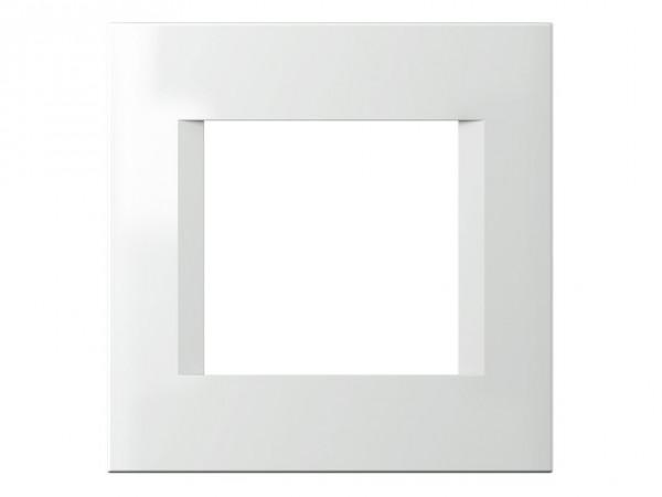 TEM Serie Modul Plus LINE Abdeckrahmen 2M polar weiß (OL20PW-U)