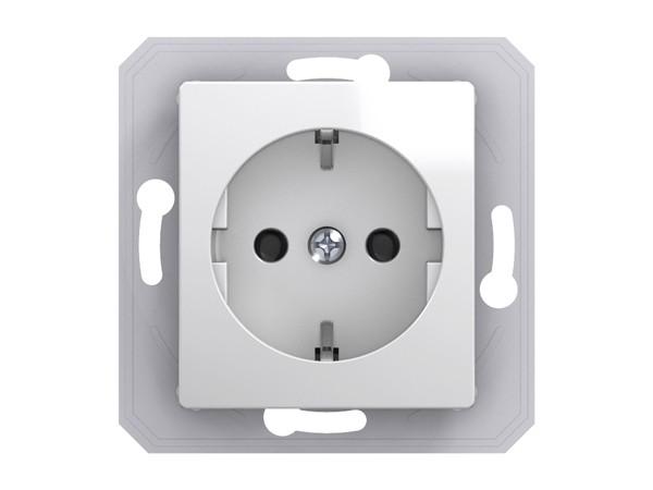 Schutzkontakt-Steckdose mit Klappdeckel Serie ekonomik (VE13PTXO)