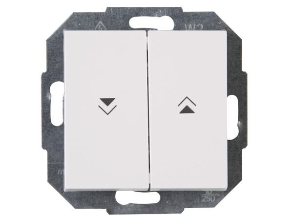 Jalousieschalter rein-weiß Serie Athenis - Kopp (588529083)