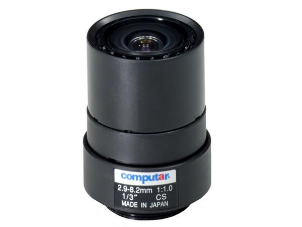 Computar T3Z2910CS-IR Infrarot-Vario-Objektiv mit manueller Blende