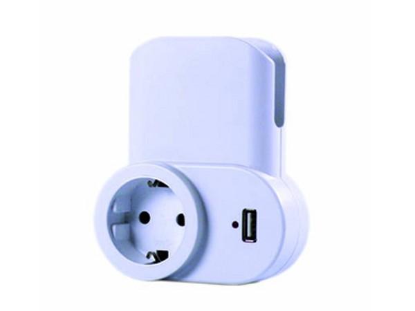 USB-Ladegerät inkl. Universalhalterung - REV-Ritter (00137001)