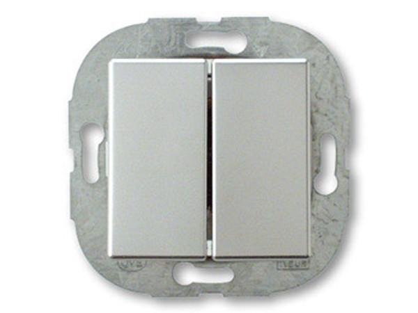 REV Ritter Düwi Arcada Doppelwechselschalter, chrom (30142)