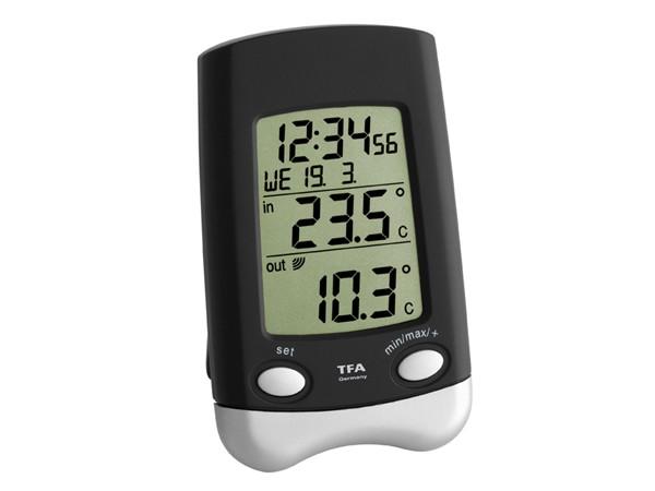 TFA 30.3016.01.IT WAVE Funk-Thermometer (anthrazit/silbermetallic)