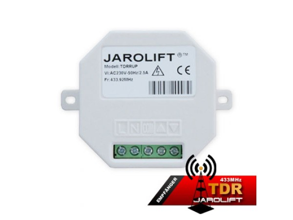 Jarolift Funkempfänger - 1-Kanal Unterputz TDRRUP