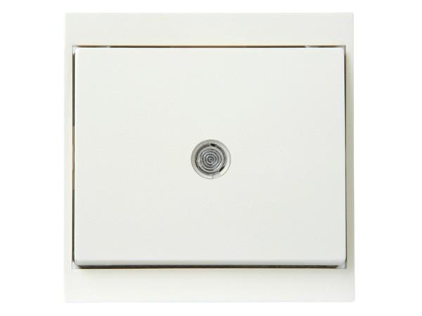 Universalschalter (Aus- und Wechselschalter) beleuchtet weiß Serie Malta - Kopp (620667085)