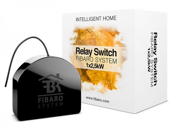 Fibaro Relais Unterputzeinsatz 1 Schalter a 2,5 kW (FGS-212)