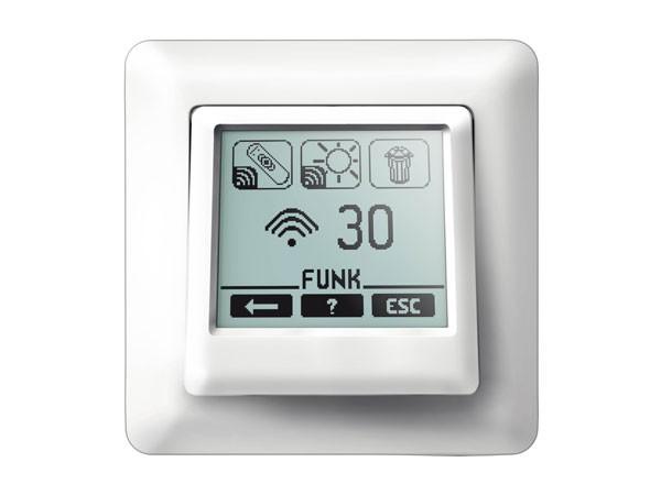 Vestamatic Touch Control VRS Rollladensteuerung inklusiv 1fach Abdeckrahmen (Art. Nr. 01813502)