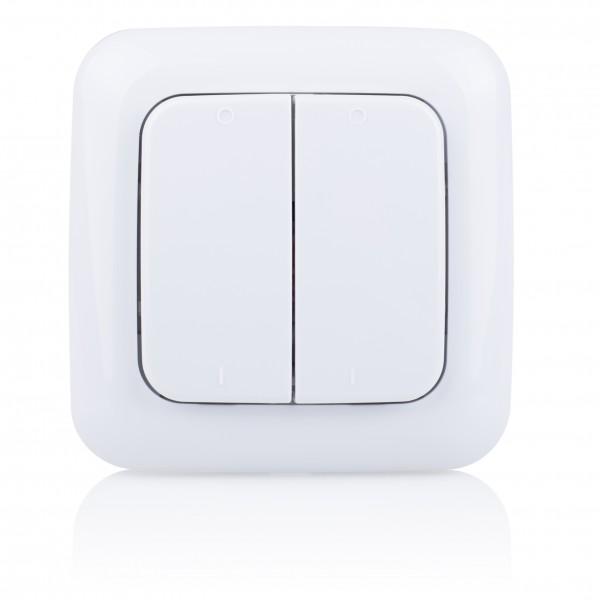 Smartwares doppelter Wandschalter (SH5-TSW-B)
