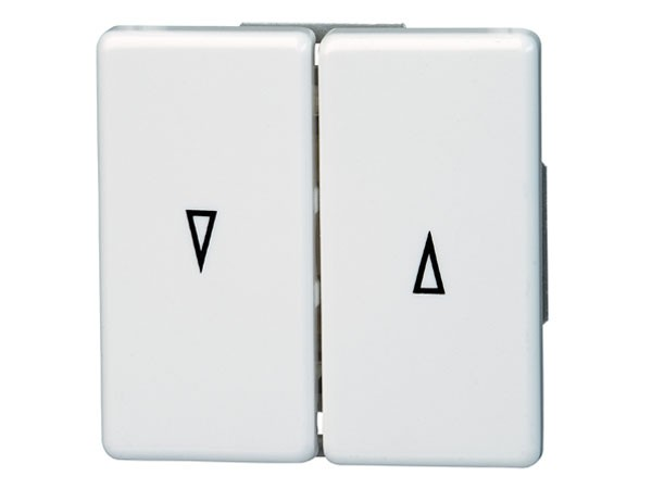 Jalousieschalter Serie Vision arktis-weiß Kopp (644502083)