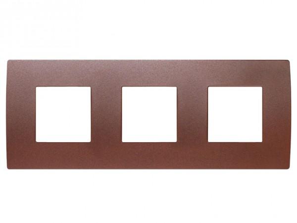 TEM Serie Modul Plus PURE Abdeckrahmen 3x2M gesätzes Eisen (OP26ME-U)