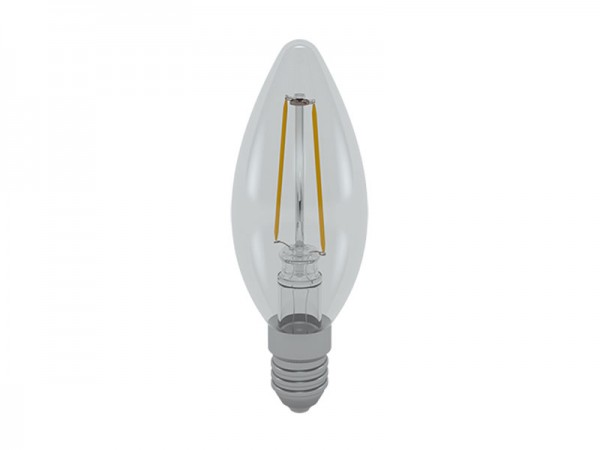 I-Light LED-Filament Kerze E14 4W 3000K warmweiß (LL-HCF1404C)