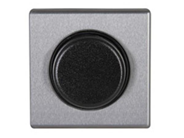 Dimmerabdeckung für Wippen-Wechseldimmer stahl Serie Vision - Kopp (319820180)