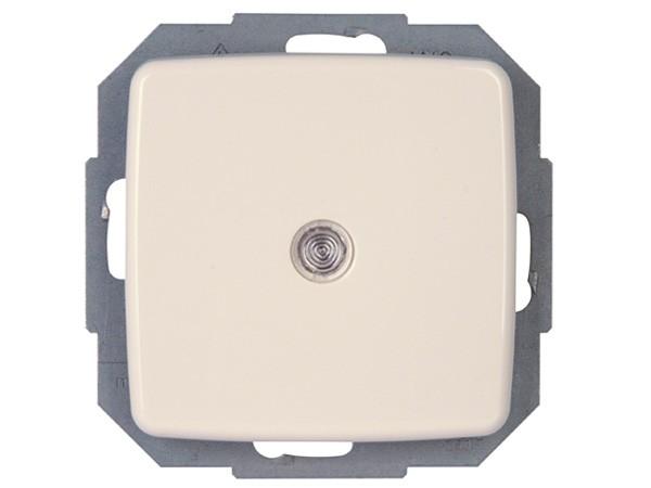 Taster beleuchtbar Serie Rivo rein-weiß Kopp (585671080)