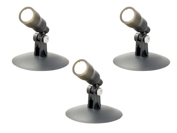 RITOS LEDs Garden Aqua Spot Set, 3 Stück schwarz (0087810512)