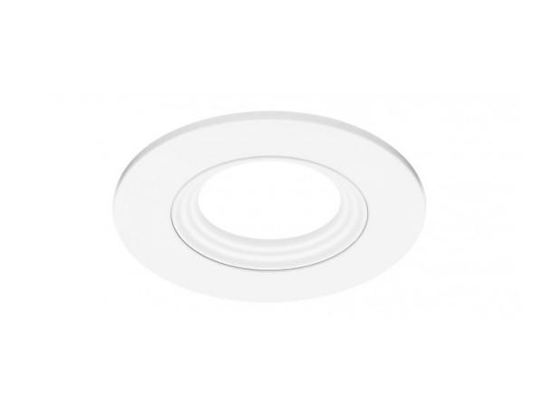 LEDON Einbaurahmen weiß rund (28000527)